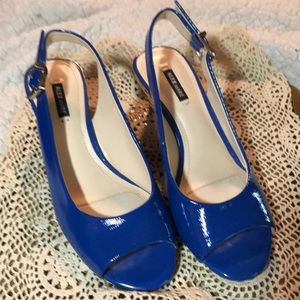 Alex Marie Blue Wedges